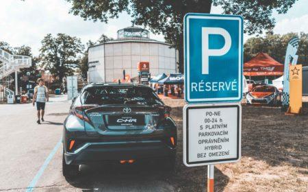 Modrá zóna parkování zdarma