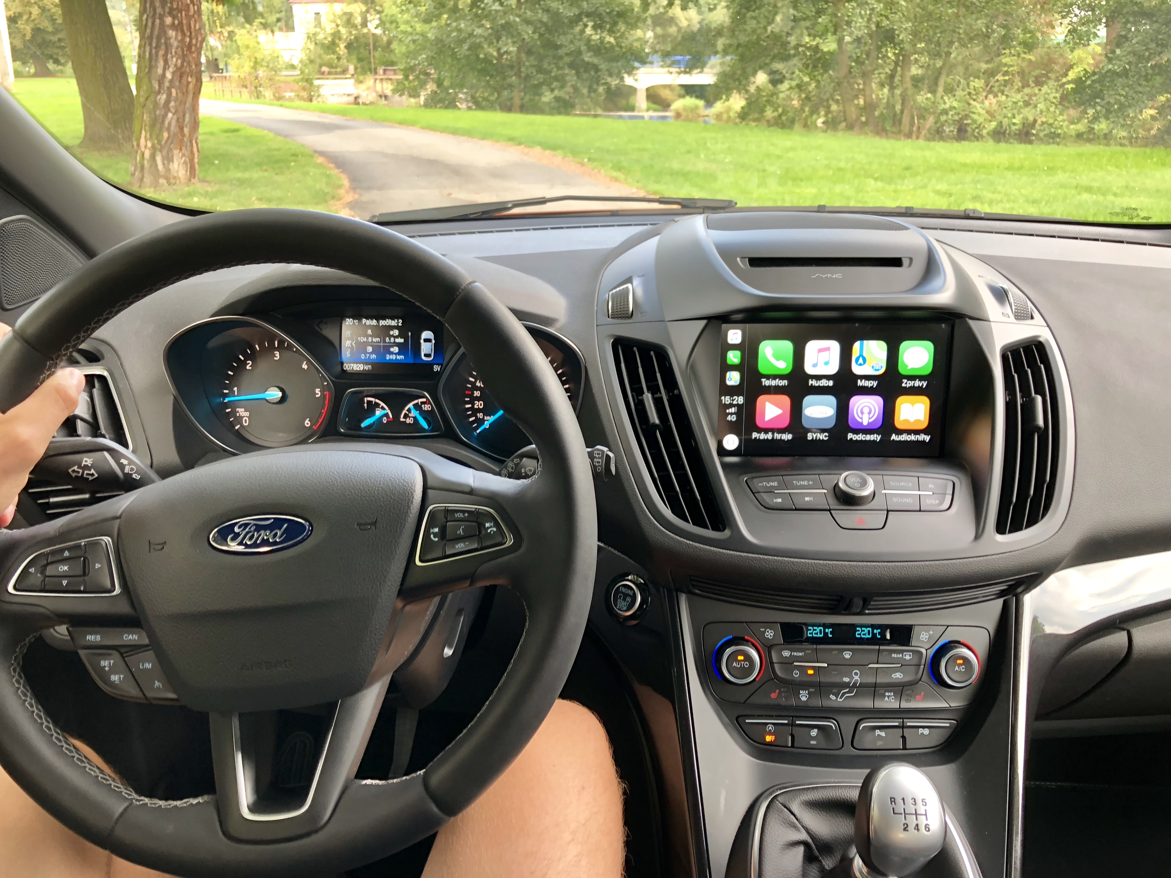 Ford Kuga s infotainmentem SYNC 3