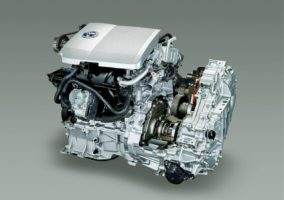 Toyota hybrid engine