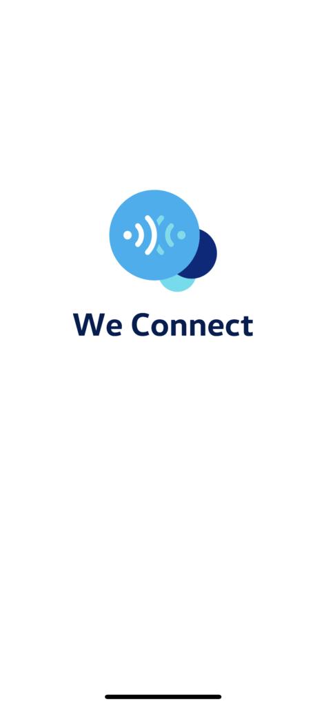 Mobilní aplikace We Connect