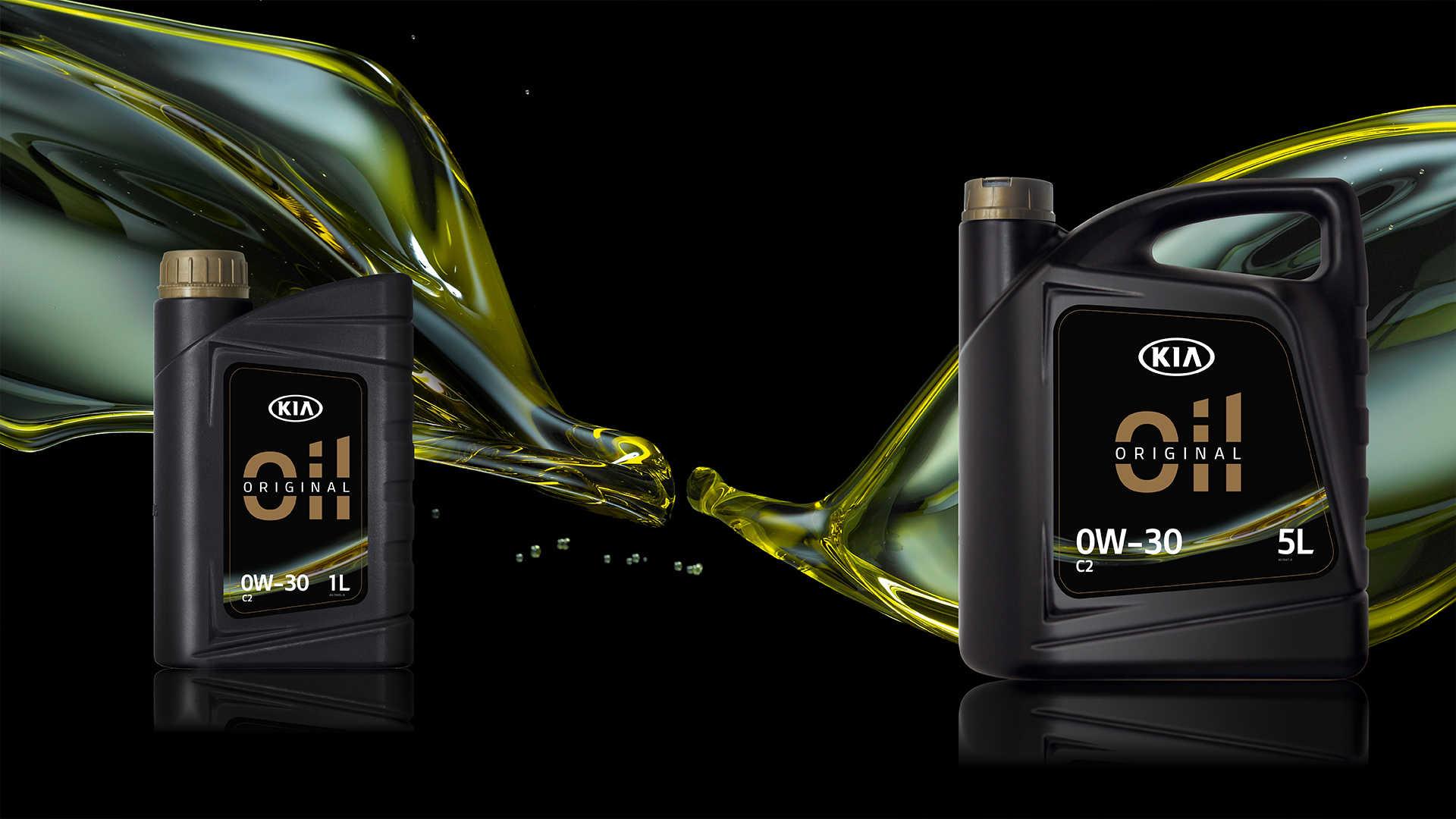 KIA originální motorové oleje