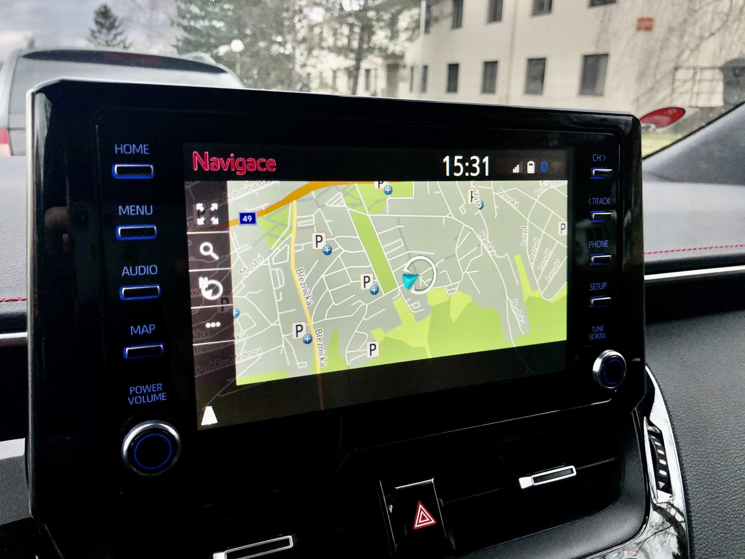 infotainmentem Toyota Touch 2