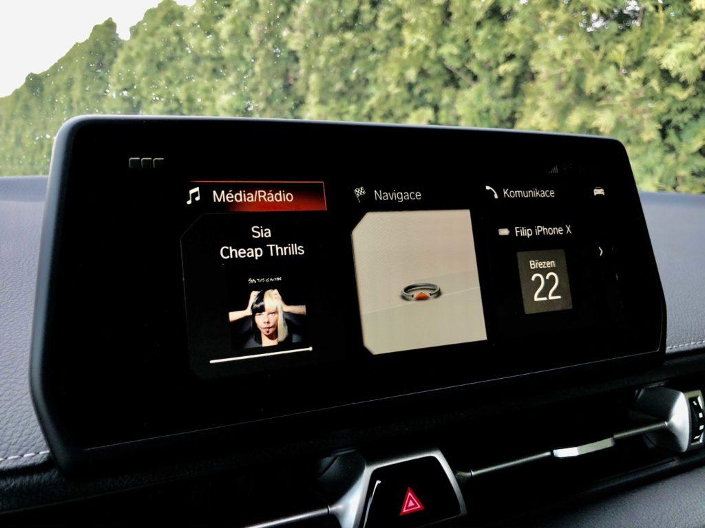 Toyota GR Supra infotainment