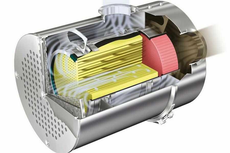 filtr pevných částic (DPF)