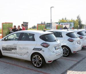 Renault ZOE nabíjení 1