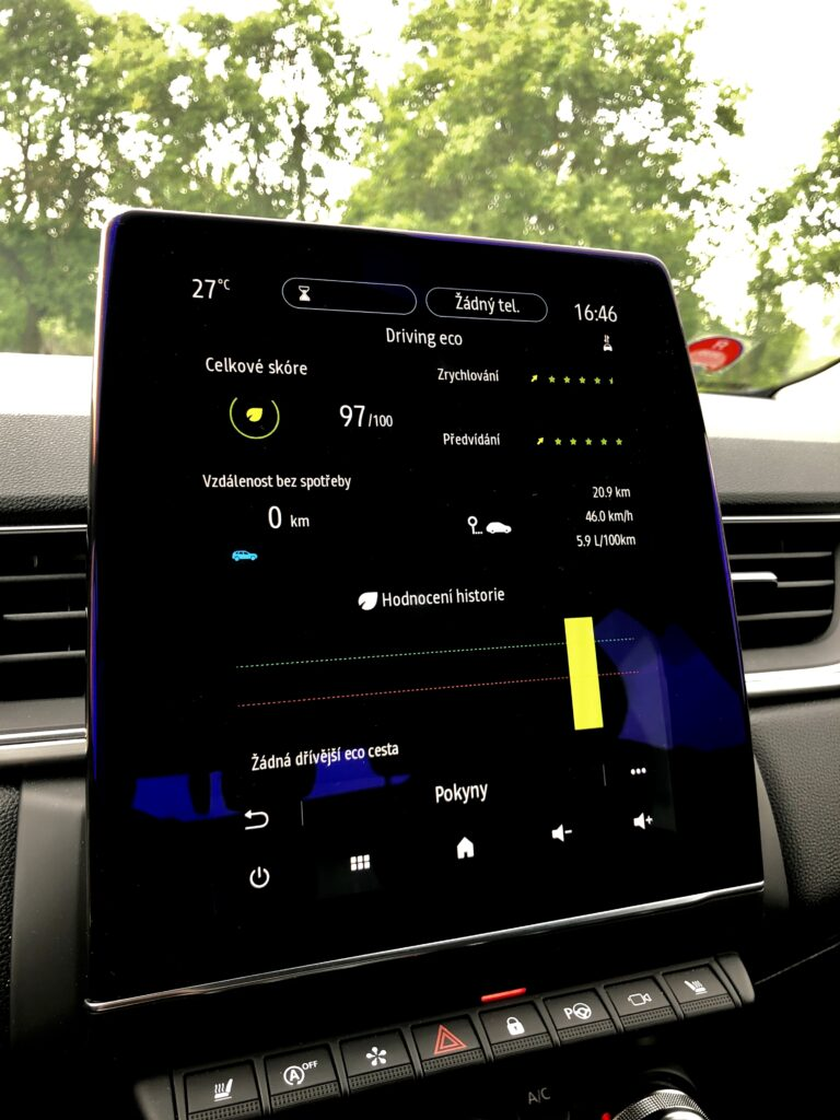 Renault Captur infotainment 3