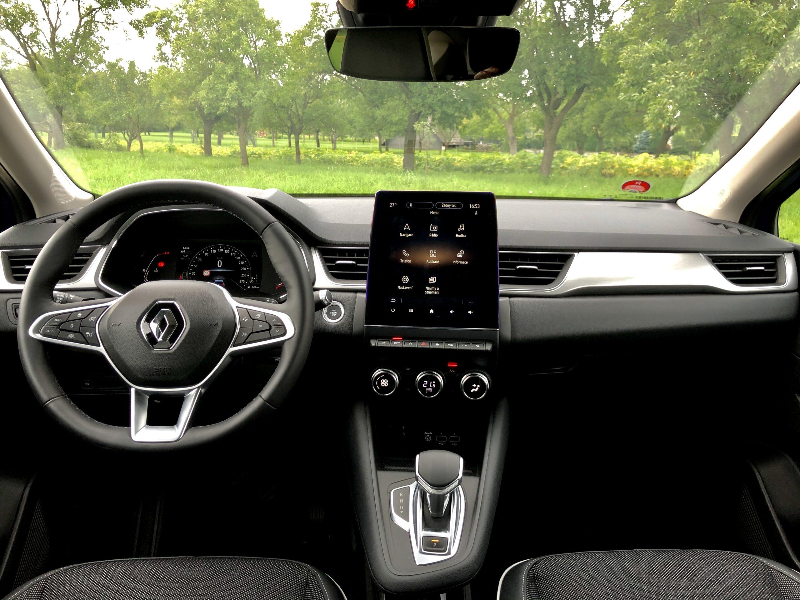 Renault Captur interier