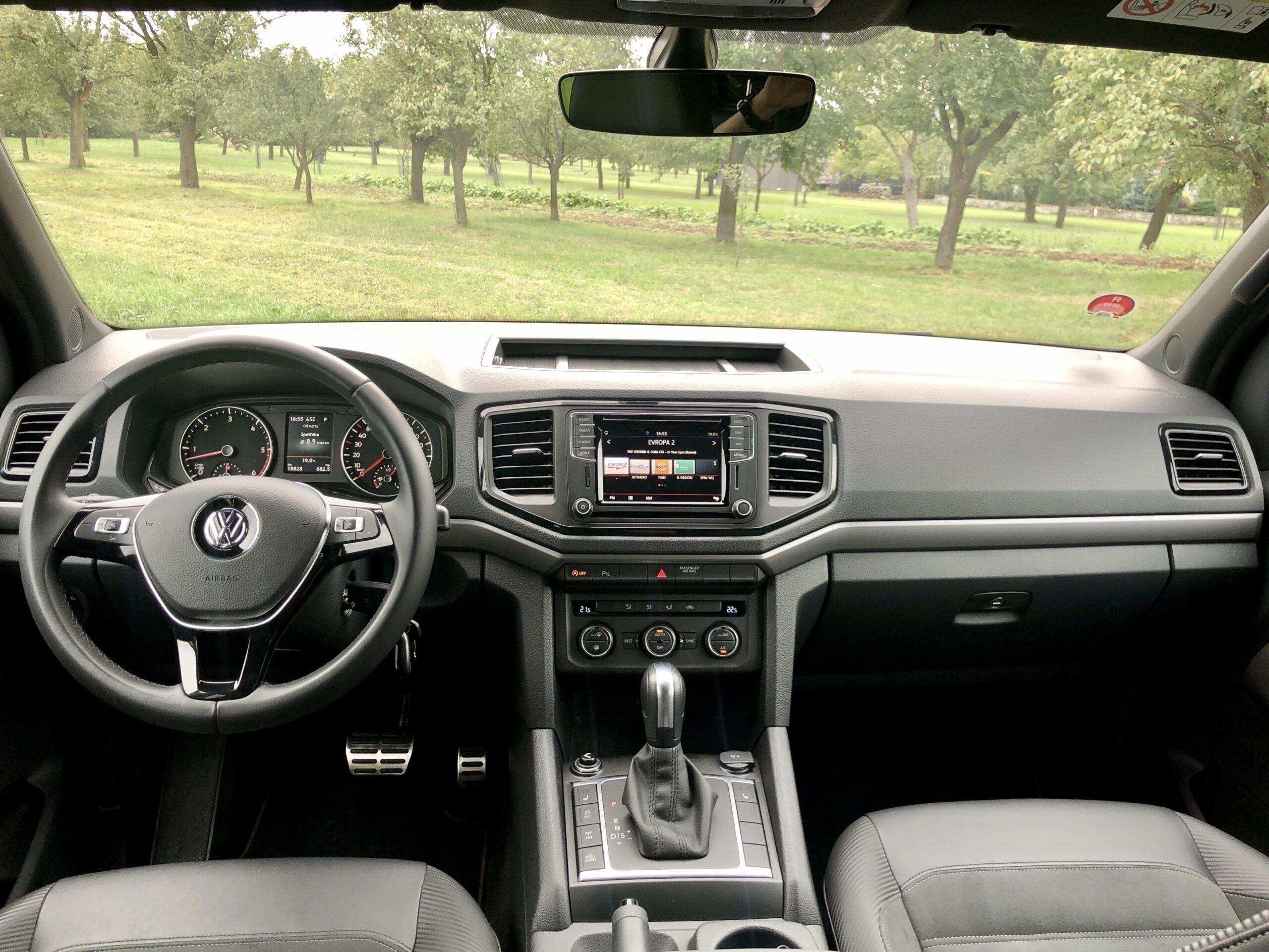 Volkswagen Amarok Canyon interier