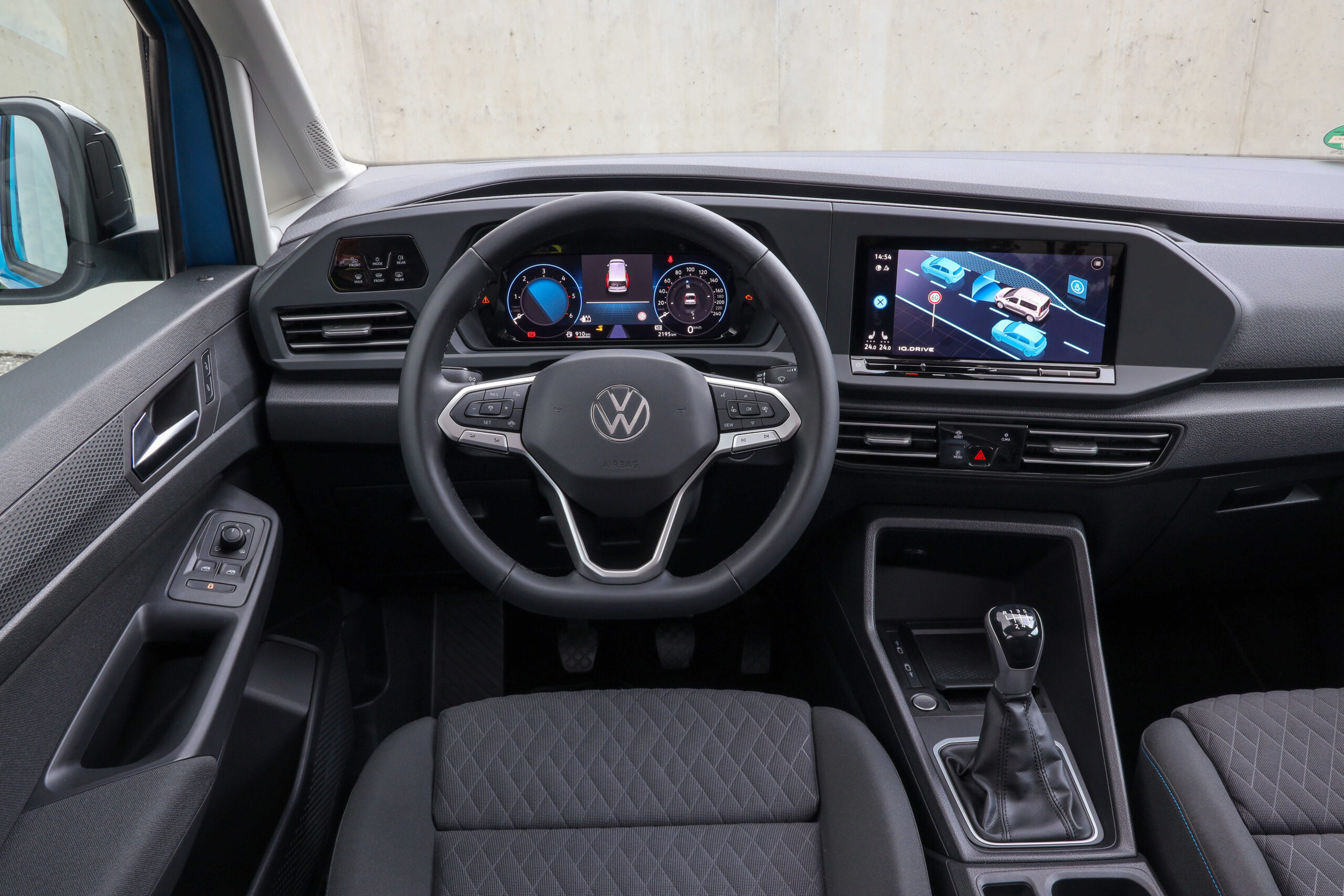 Volkswagen Caddy 5 Inovation cockpit