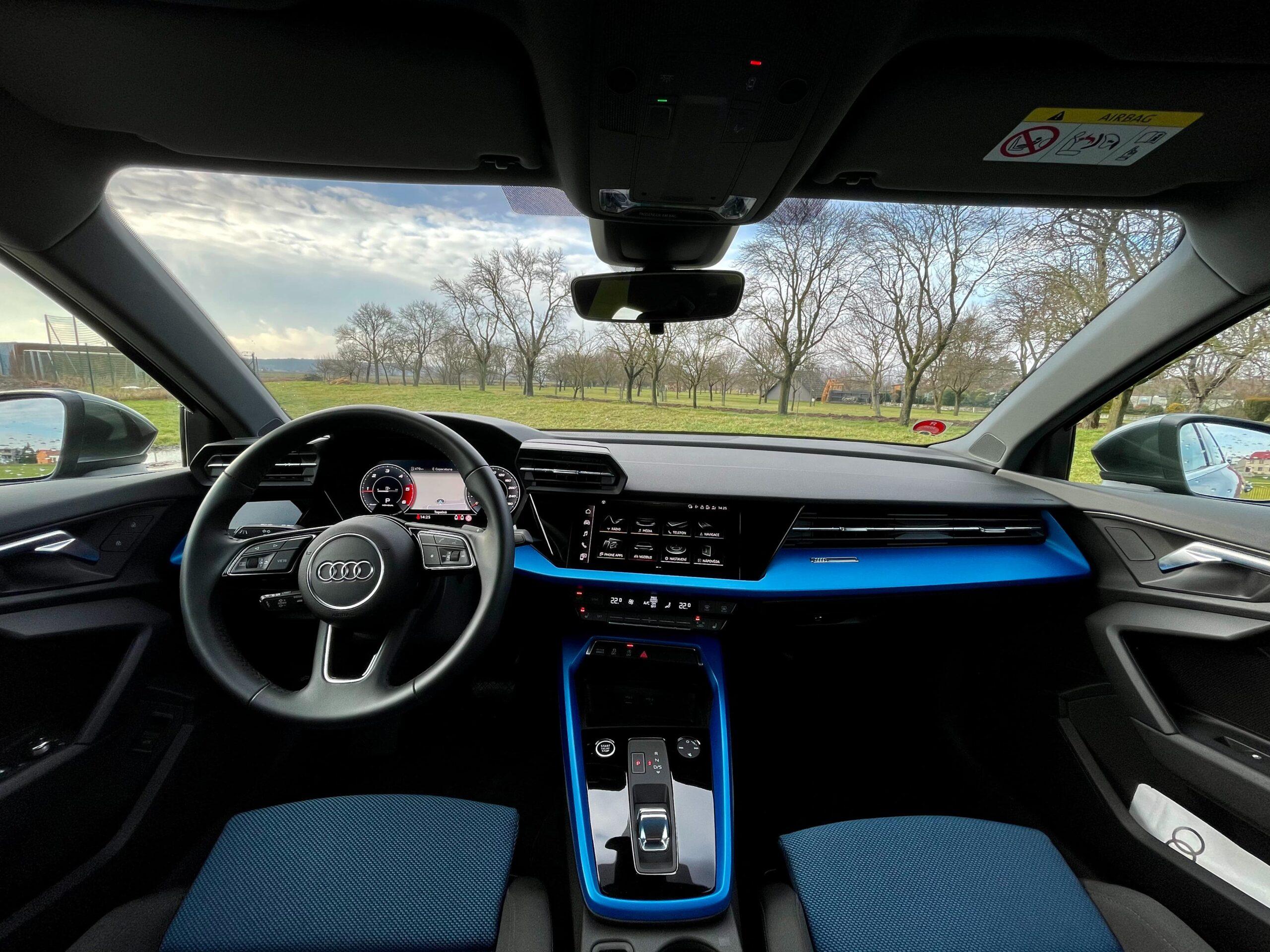 Audi A3 limuzína_interier