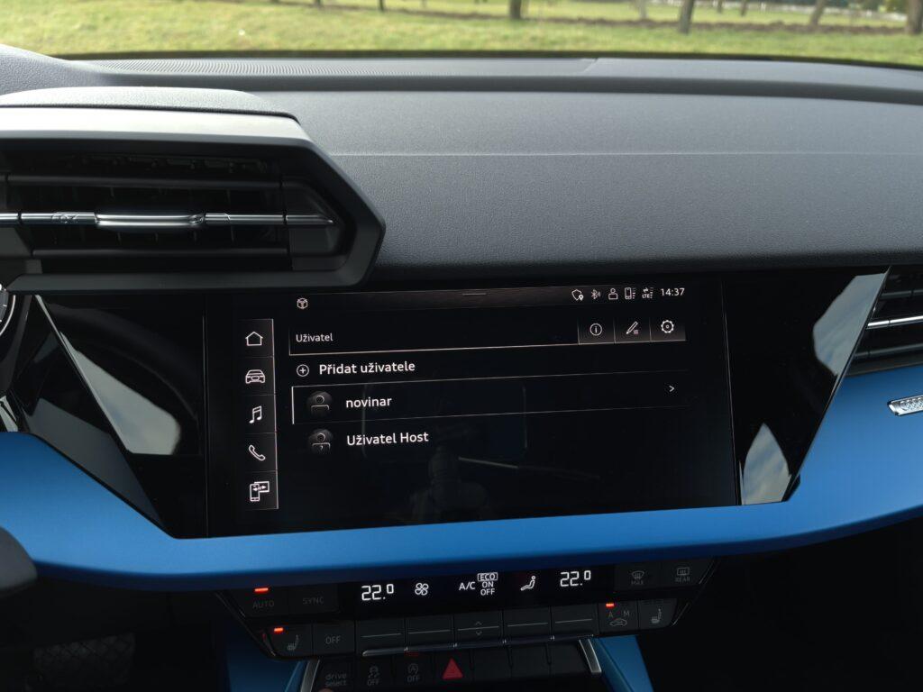Audi A3 limuzína_infotainment
