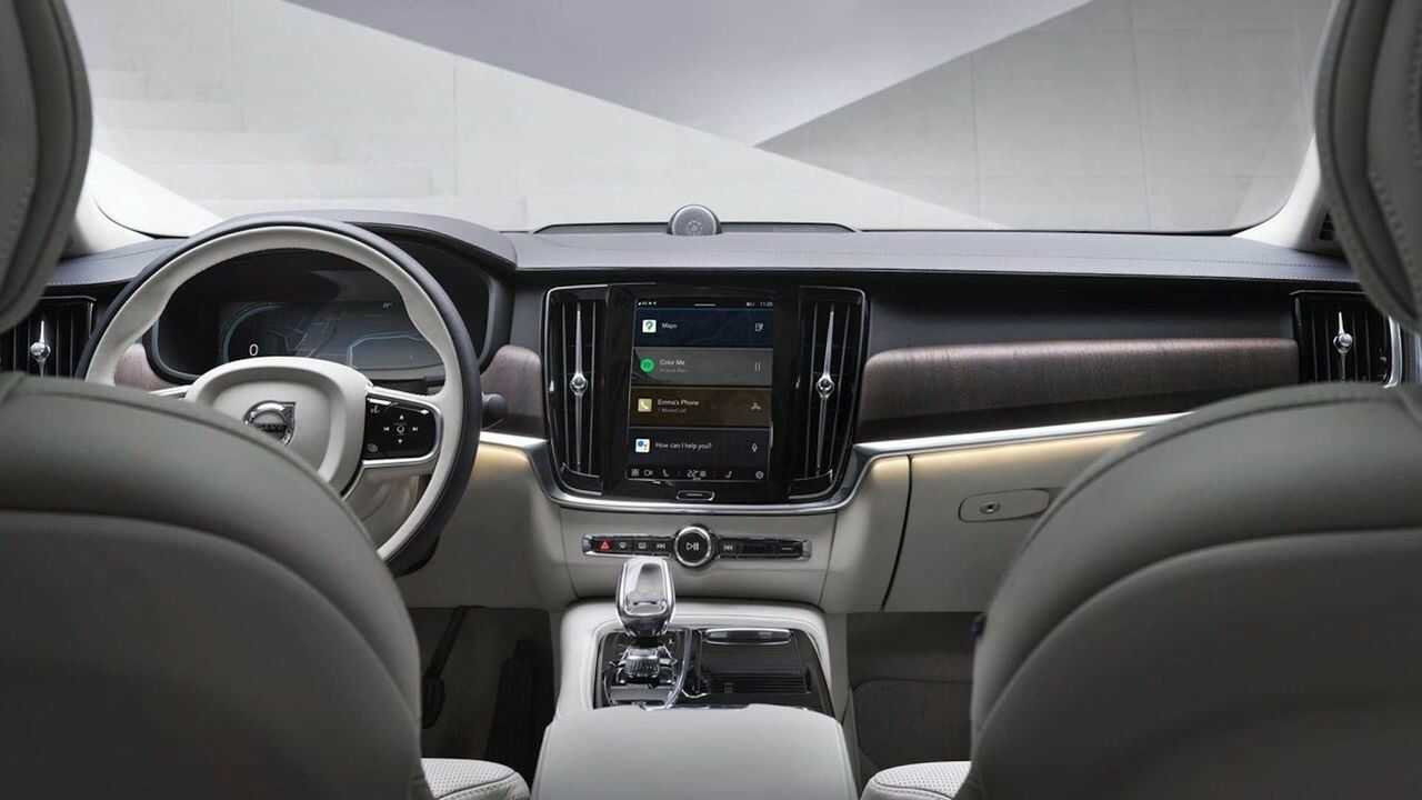 Volvo Android infotainment_1