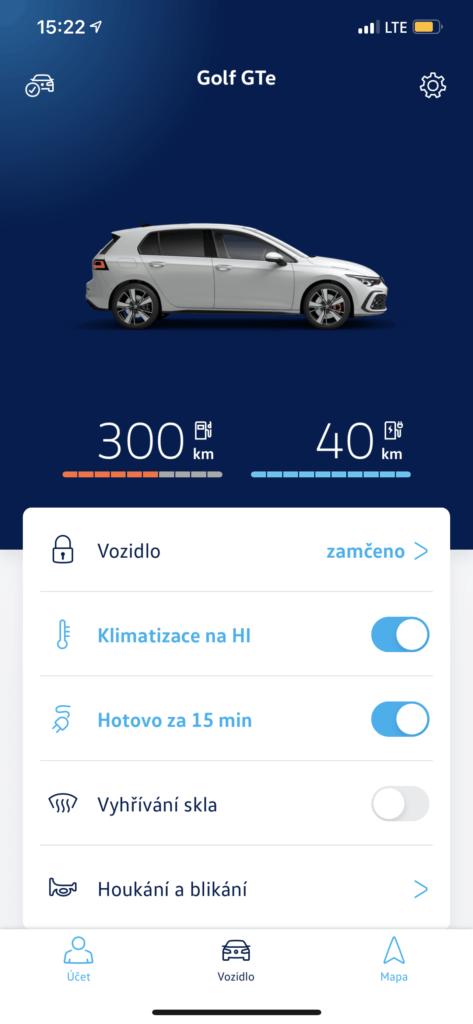 Volkswagen Golf GTE_weconnect