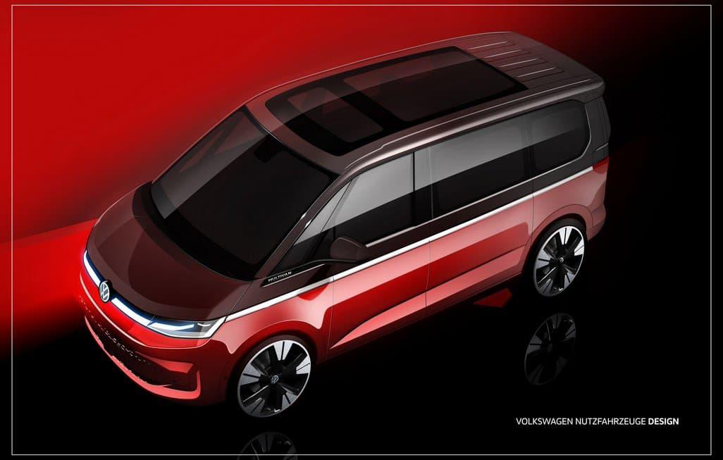 Volkswagen Mutlivan T7 2021