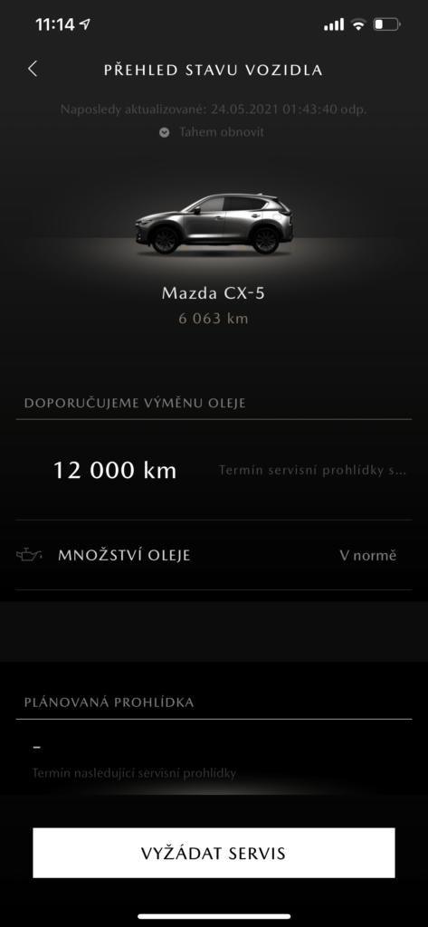 Mazda CX-5 My Mazda aplikace_1