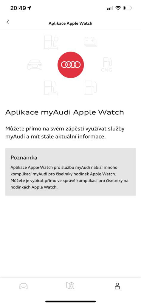 Audi Q2 2021_myaudi_aplikace_1