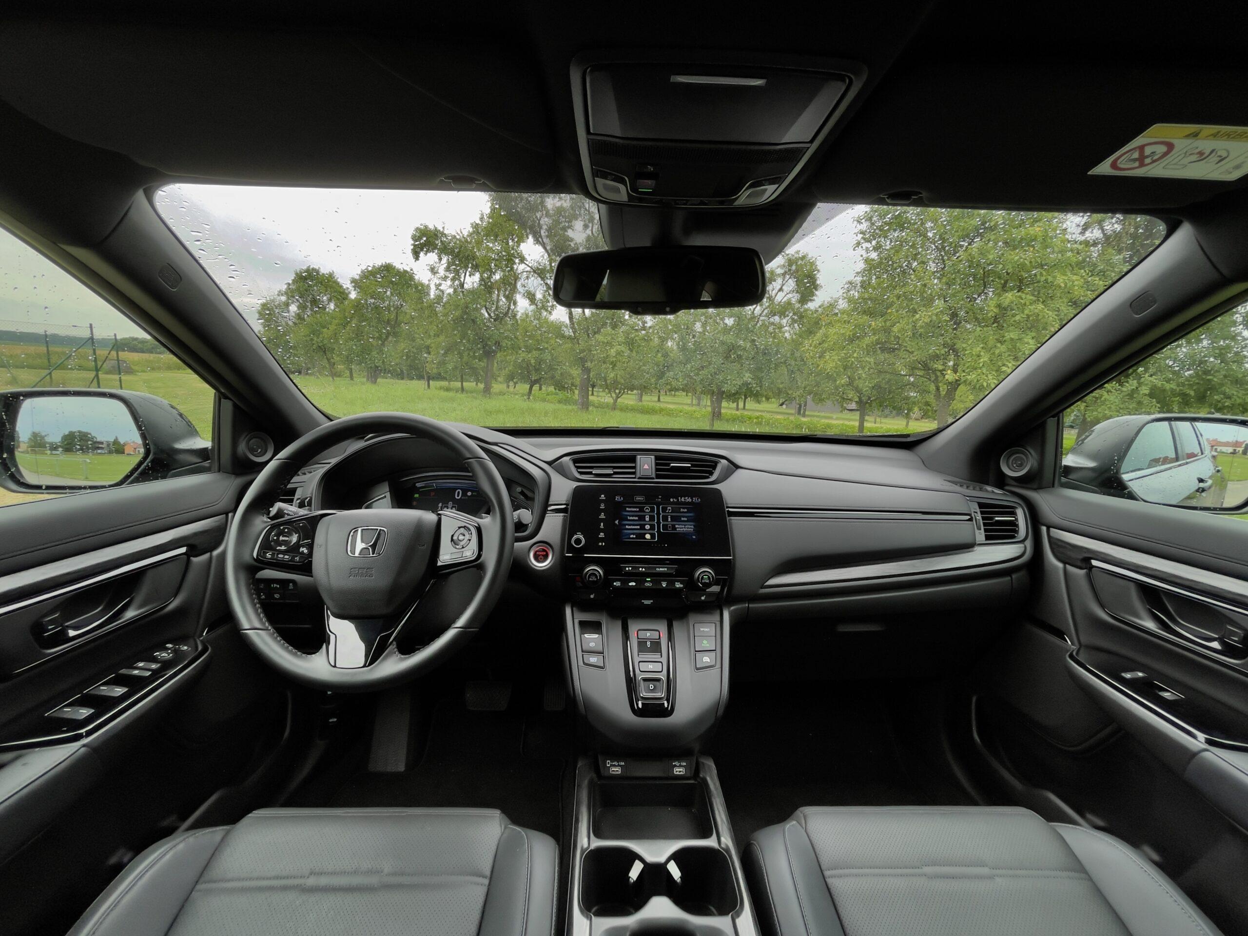 Honda CR-V_interier