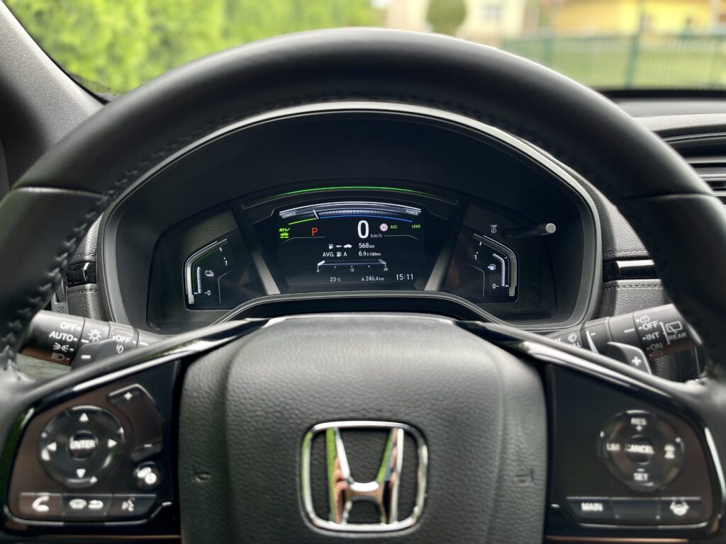 Honda CR-V_pristrojovy stit