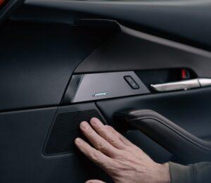 Mazda and Bose audio